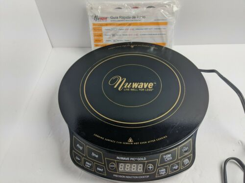 NuWave Pic Gold Model 30201 AQ Portable Cooktop Induction Bu