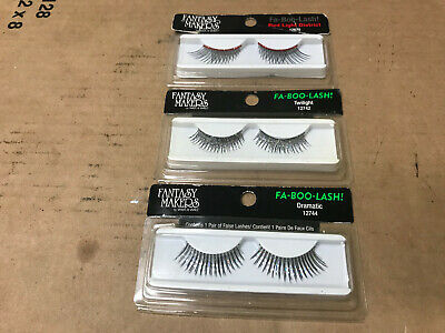 FANTASY MAKERS Strip Eye Lashes FA-BOO-LASH! Halloween CHOOSE YOUR STYLE - Fantasy Makers Eyelashes