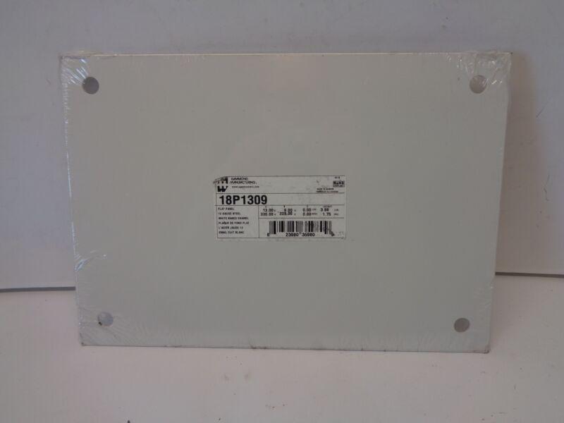 "Hammond Electrical Enclosure Accessories Steel Panel 13"" x 9"" P/N 18P1309"