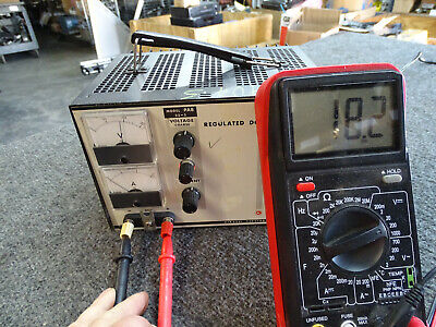 Kikusui Pab 32-3 Regulated Dc Power Supply Tested