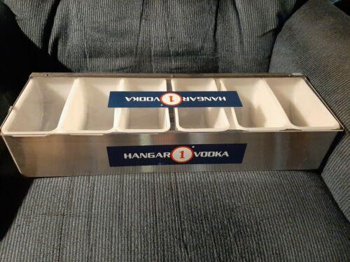 hangar 1 vodka garnish holder/bar caddy.....free shipping
