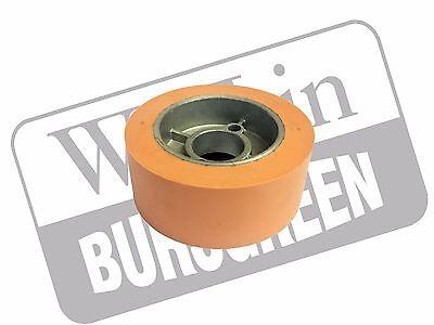 Heavy Duty 50mm X 120mm Power Feed Roller - Genuine Wadkin Bursgreen Spare Parts