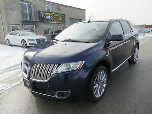 2011 Lincoln MKX AWD, LEATHER, PANO, NAVI, REAR CAM, CERTIFIE...