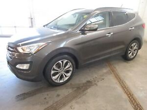 2014 Hyundai Santa Fe Sport 2.0T SE- ALLOYS! LEATHER! BACKUP CAM