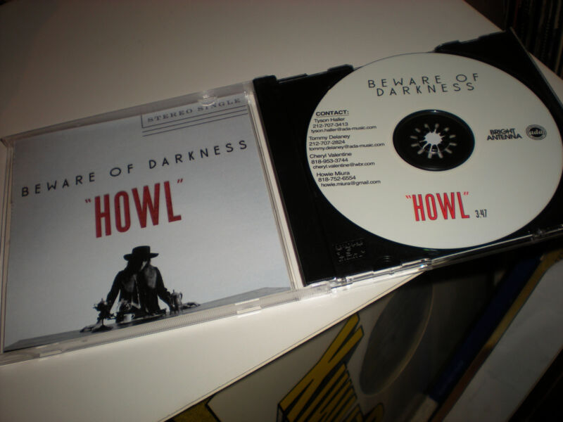 Beware of Darkness Howl CD SINGLE one track