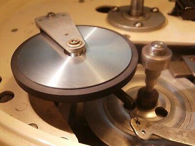NEW IDLER WHEEL For GARRARD 301 401 +2 BRONZE BUSHING AUDIOSILENTE Made in Italy