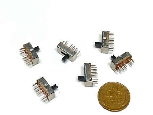 6 x SS23D07 8 PINS 3 Position 2P3T Toggle Switch Slide   E8