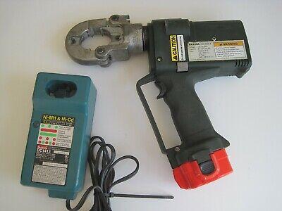 Greenlee Gator Ek22gl 6ton 12v Battery Powered Crimping Tool High Speed Crimper