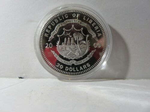 2000 DECLARATION OF INDEPENDANCE 20 DOLLAR SILVER PROOF COIN  - 429