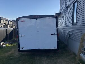 Enclosed trailer 16' by 8'6""