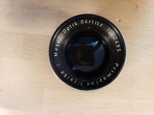 Meyer Optik Gorlitz Primoplan 58mm f/1.9 Red V M42 Good