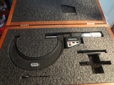 Starrett 733 Digital Electronic Outside Micrometer 3-4 Readout Does Not Work