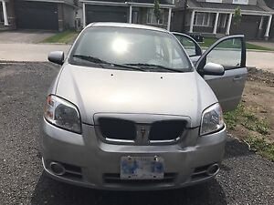 2008 Pontiac Wave SE,  automatic, Sunroof, winter tire included