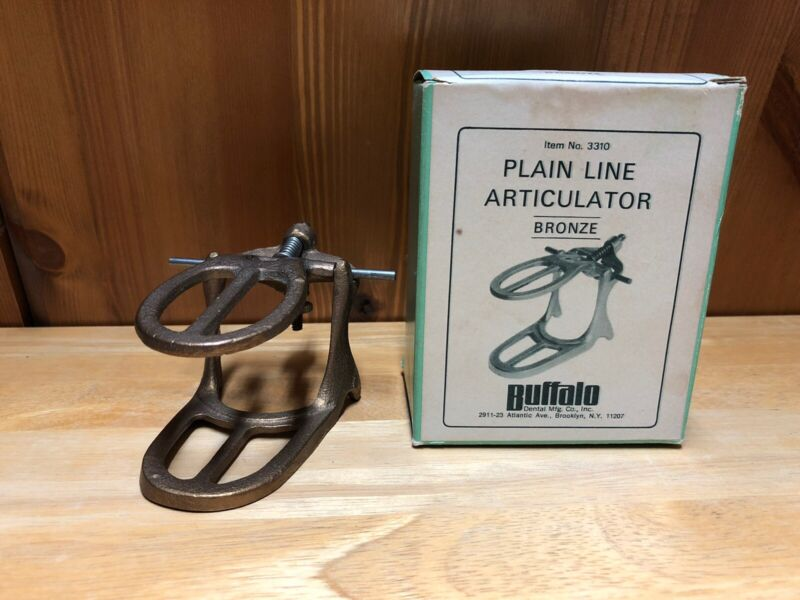 Buffalo Dental Articulator No.3310 Plain Line Bronze