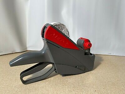 Meto 822 Price Labeling Gun Single Line 8-digits Gray Red