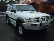 2003 Nissan Patrol GU111 TURBO DIESEL Auto Wagon Frankston Frankston Area Preview