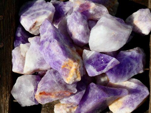 Natural MADAGASCAR AMETHYST Rough - 2000 CARAT Lot- Rough Rocks- Nice Color