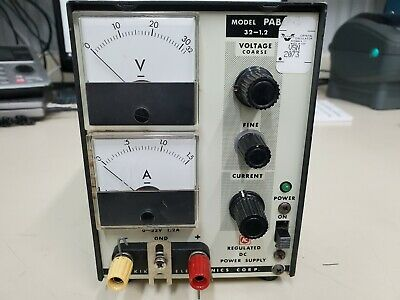 Kikusi Electronics Pab 32-1.2 Analog Regulated Dc Power Supply 32v 1.2a