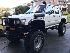 """1994 Toyota Hilux 2.8L Turbo Diesel 6"""" lift 35"""" Tires Frenchs Forest Warringah Area Preview"""