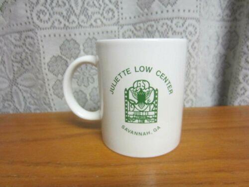 White Coffee Cup - Juliette Low Center - Girl Scouts - Savannah, GA