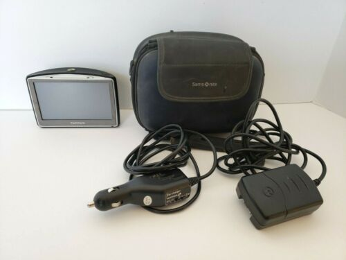 Tom Tom GPS Model GO720-Car Charger Home Charger & Carrying Case Bundle AS-IS