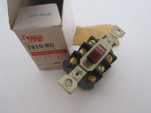 Arrow Hart 7810-RU Manual Contactor 3 Pole