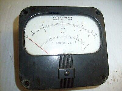 Hewlett-packard Noise Figure Meter 342a Hp - Current Ma. Panel Meter Simpson