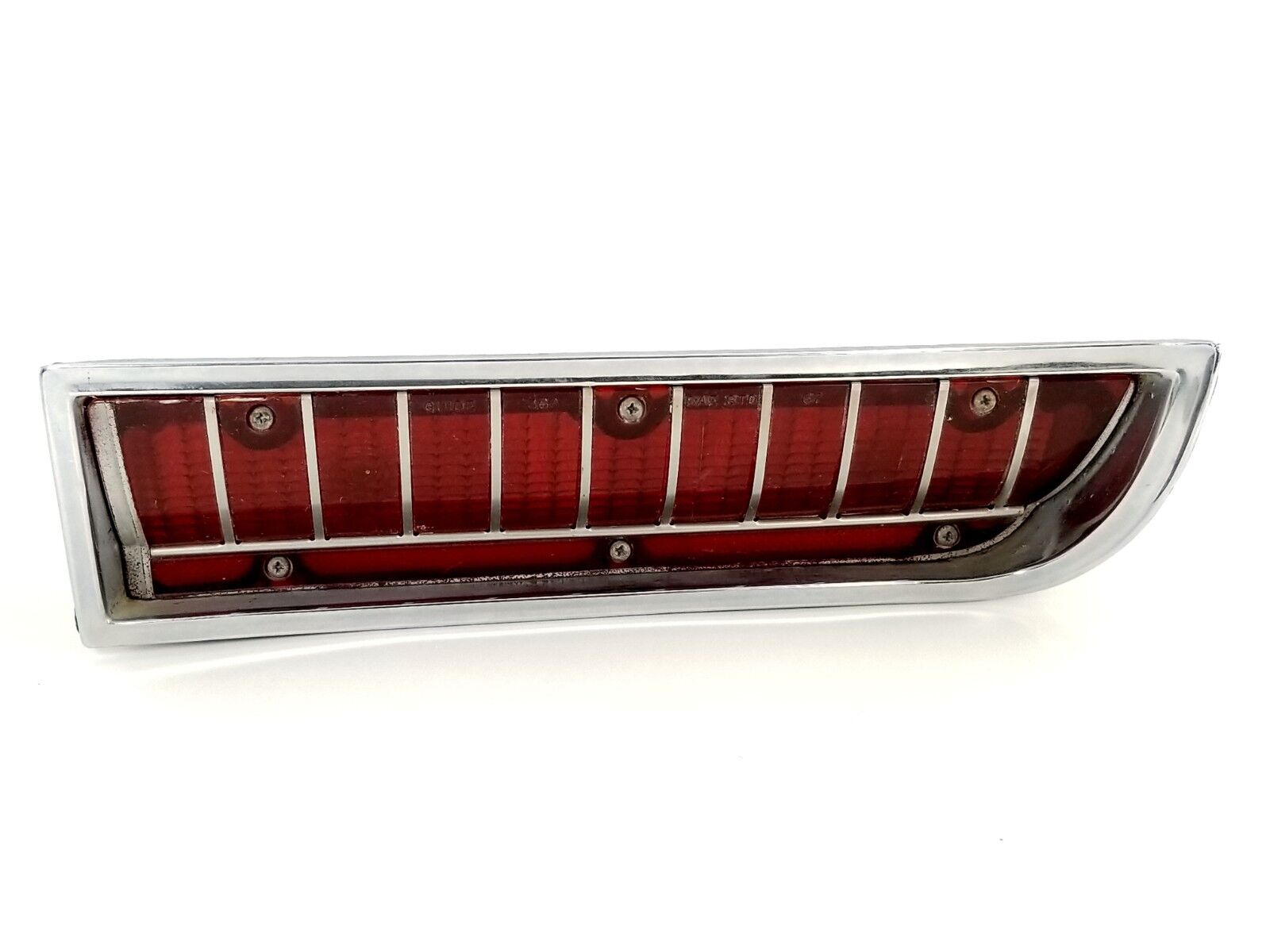 1967 Oldsmobile Super Delta 88 Lower RH Bumper Tail Light Assembly 36A STDB T142