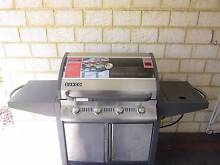 4 Burner BBQ, cabinet trolley, gas bottle /conversion kit, Cover Thornlie Gosnells Area Preview