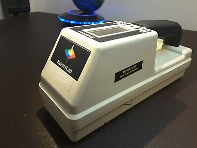 Portable Colorimeter Hunterlab Progloss Spectrophotometer Pg-3 Spectrometer 649
