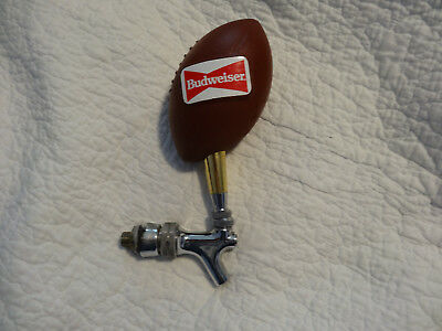 Budweiser Football Beer Tap & Handle