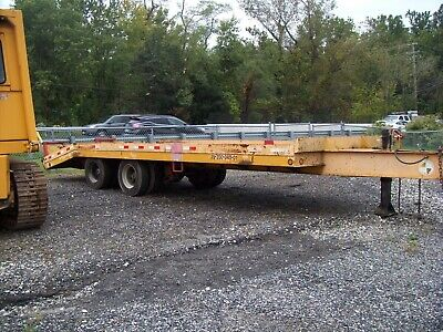2001 Custom 20 Ton Trailer One Owner Bought 031989 By Md State Hiway Dept