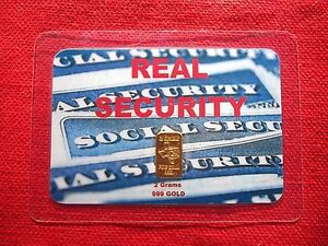 2 gram GOLD TGR BULLION REAL SECURITY EDITION 999 Bar Sealed In Assay card L@@K.