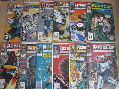ROBOCOP : COMPLETE 23 issue 1990 MARVEL SERIES by ALAN GRANT, SULLIVAN etc