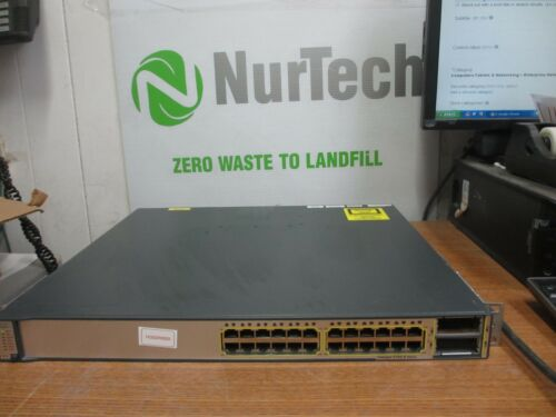 Cisco Catalyst 3750-e Series Ws-c3750e-24td-e Network Switch