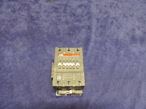 ABB A110-30 3-POLE CONTACTOR 110V/120V COIL