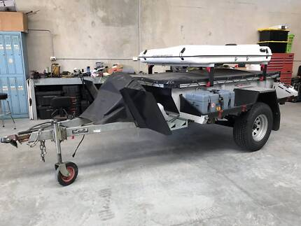 TRACK Weekend Mate Hard Top Off Road Camper Trailer