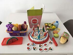 Kids kitchen imaginary toys lot