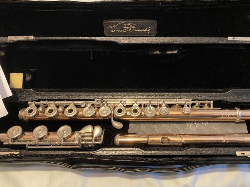 Powell Handmade Conservatory Flute, Aurumite 9K Professional Model