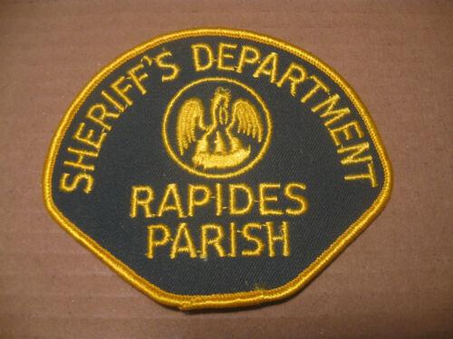 RAPIDES PARISH LOUISIANA SHERIFF POLICE PATCH