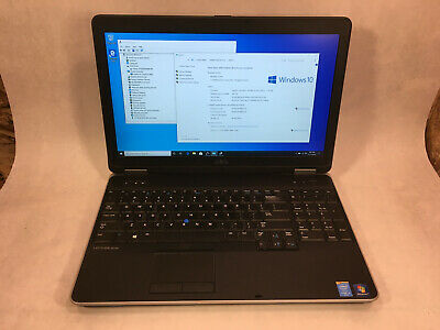 "Dell Latitude E6540 15.6"" Laptop Intel Core i5-4300M 2.6GHz 8GB 500GB Win10 -RR"