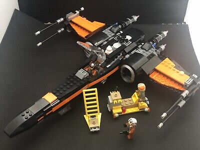 Lego Star Wars 75102 Poe's X-Wing Fighter - Complete No Box