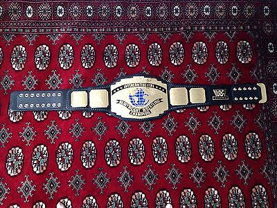WWF logo Intercontinental Championship replica title belt WWE full adult size