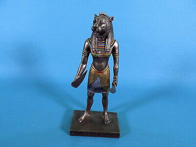 Veronese Lion Head Ancient Egyptian God Mahes Son of Sekhmet Warrior Goddess