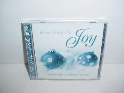 How Great Our Joy Instrumental Christmas Favorites CD ()