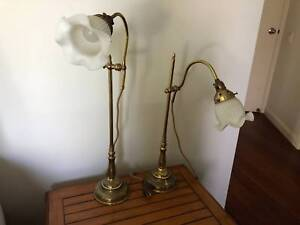 Bedside Table Lamps in great condition