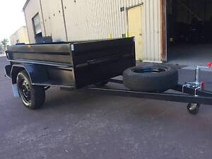 FULL STEP WELDE AND RHS 7X4 HI SIDE HEAVY DUTY 1Y PRIV REGO $1100 Blue Mountains Preview
