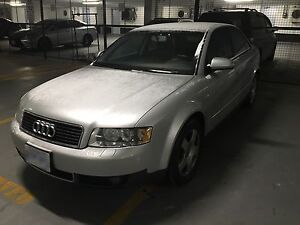 2004 Audi A4 1.8T include winter tires
