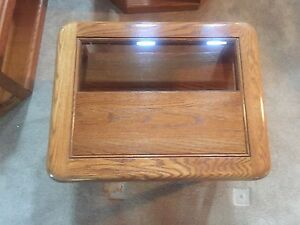Coffee table and 2 end tables - Clear Lake