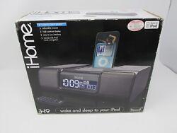 NEW IHome iH9 Made For iPod Alarm SoundDock Clock Radio